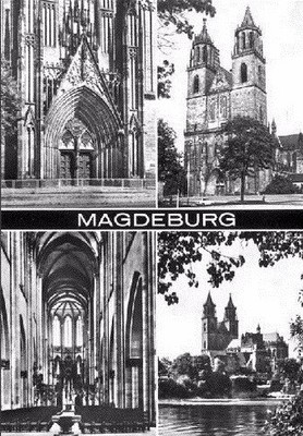 Magdeburg Cathedral is one of the biggest city sights