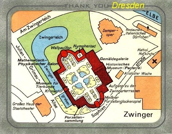 My plan of Zwinger