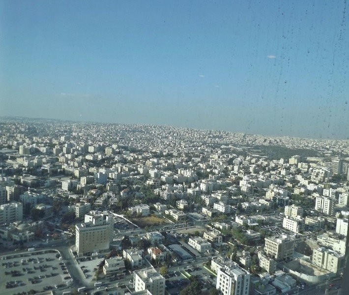 A view from Amman Rotana Hotel