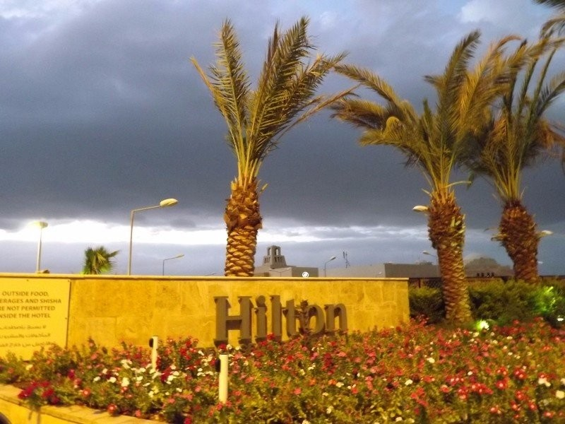 Visiting Hilton Hotel