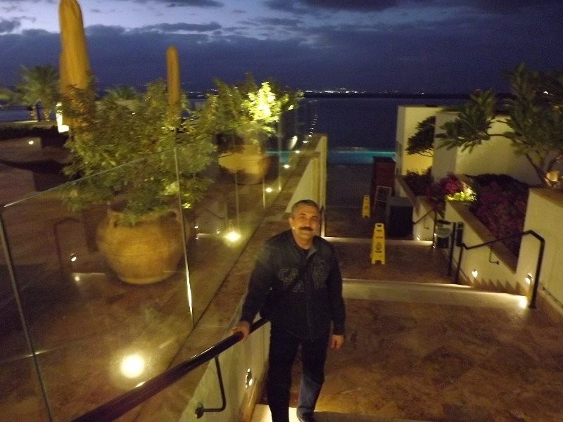 Visiting Hilton Hotel beach facilities