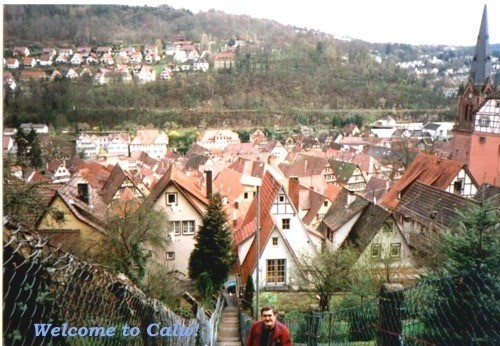 The hills of Calw