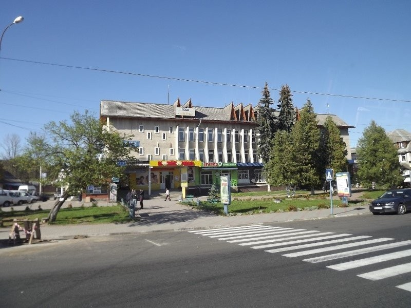 Downtown Yaremche