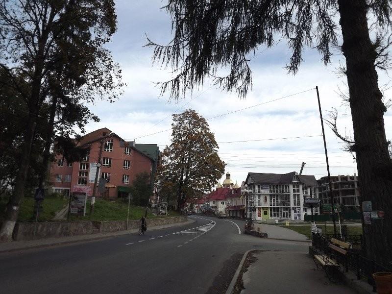 During a stroll along Liberty Street