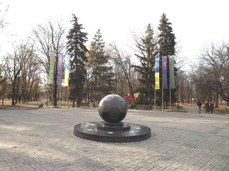 Soccer Ball monument