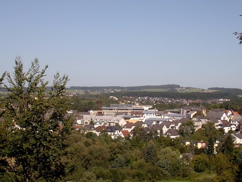 A view of the city from tar memorial on the hill