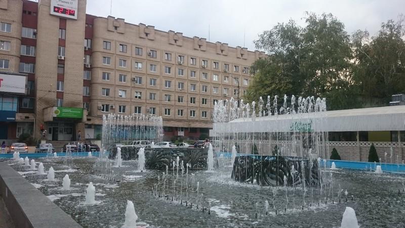 Central Square fountain