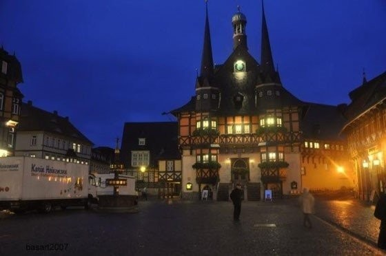 The medieval Rathaus - the City Council building