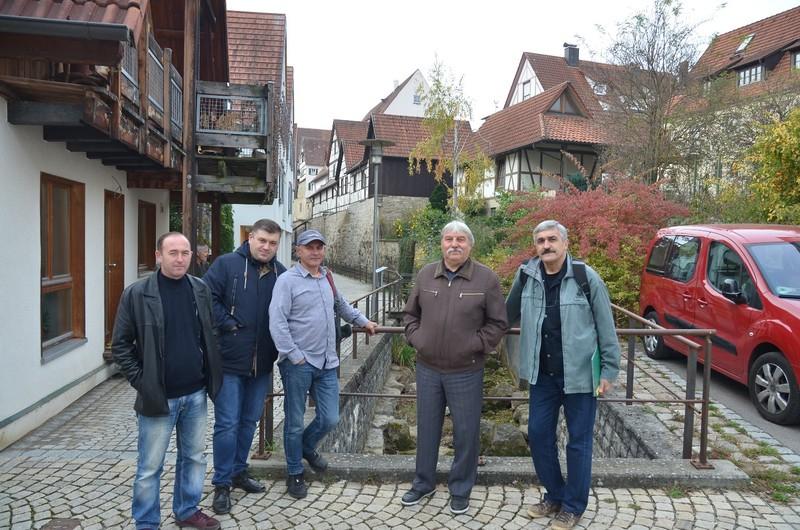 During a city tour of Balingen_1