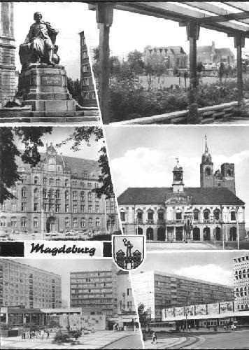 My favourite postcard from Magdeburg