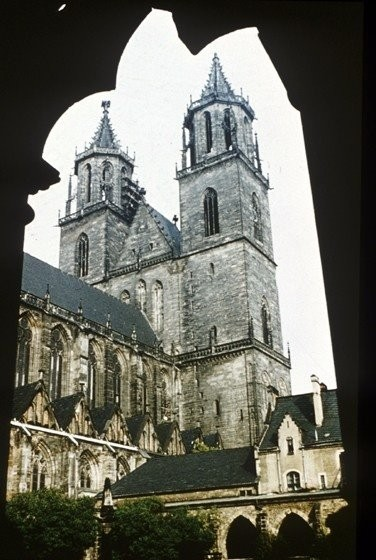 A view of the Cathedral (Dom)