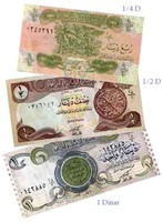 We used these dinars in Iraq