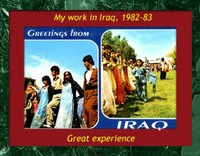 My work in Iraq was memorable for me