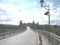On the way to Kamianets-Podilskyi Fortress