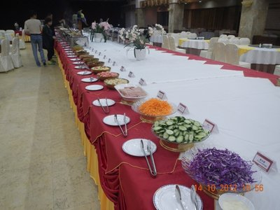 breakfast hall in Emei Shan Grand Hotel