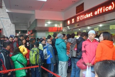 Juizhaiguo - the chaos at the entrance, but there will be a reward