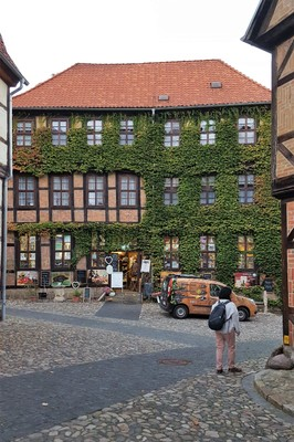 Germany - Harz - Quedlinburg, hotel Zum Bär at the market square