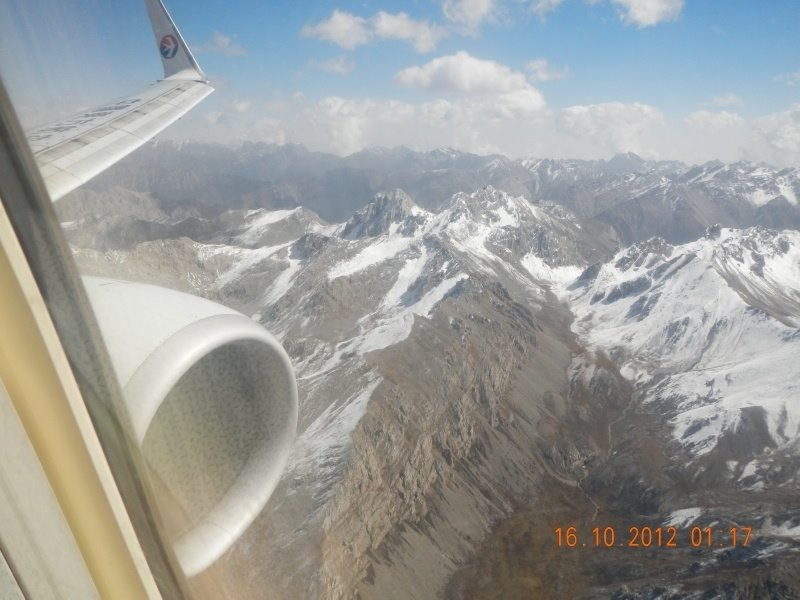 Flight to Juizhai Huanglong airport