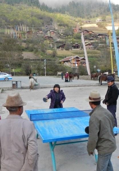 Zhongcha village - an international match