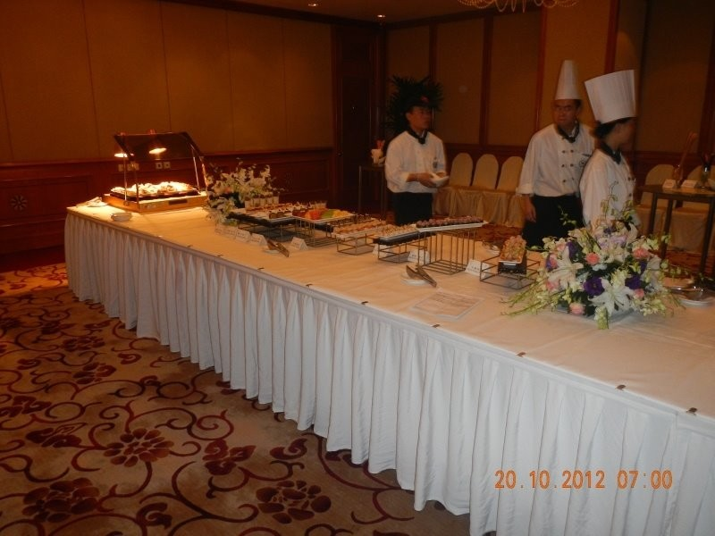 Chengdu - western canapes, ready for the wine tasting event