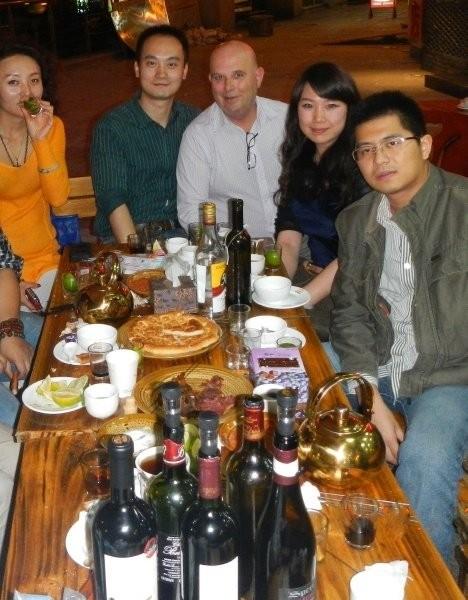 Chengdu - Leftover wines and Caipirinha Party