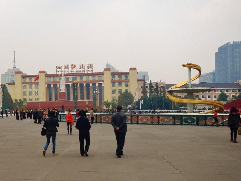 Chengdu - Tian Fu square