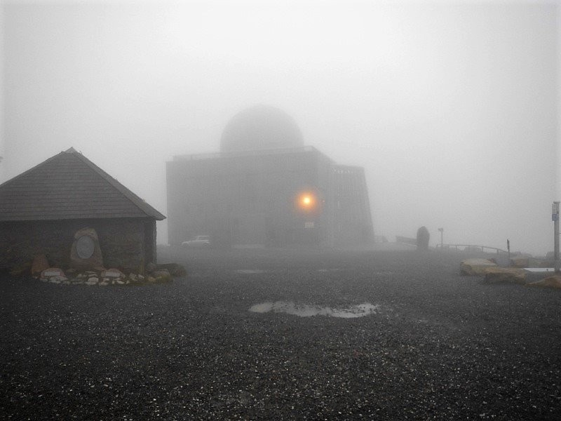 Germany - Harz - Brocken - the mysterious Cold War espionage station