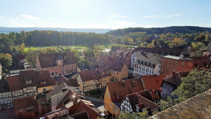 Germany - Harz - Quedlinburg, view from Casle hill