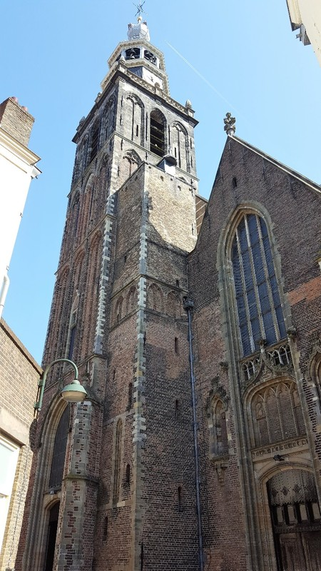 Netherlands, Gouda, the St. John's church