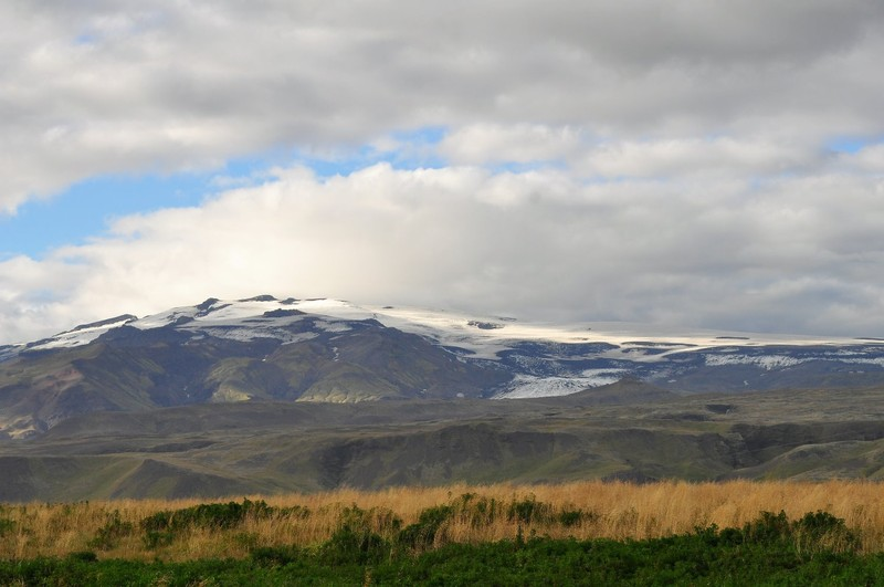 Iceland, Vatnajökull is Europe's largest glacier