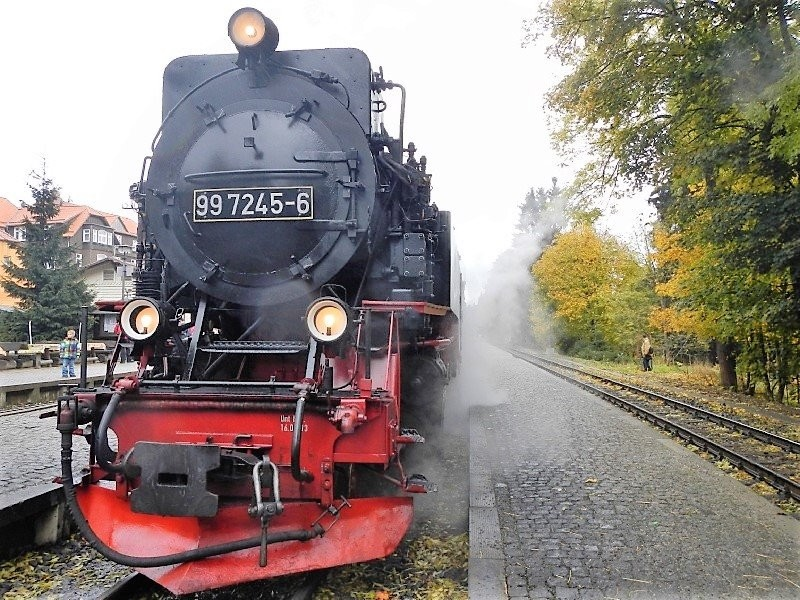 Germany - Harz - Brocken - the steam train to the mountain top
