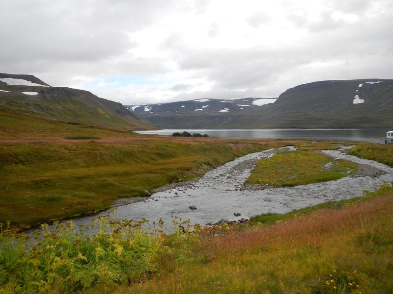 Iceland, Westfjords, Hesteyri peninsula, all for ourself