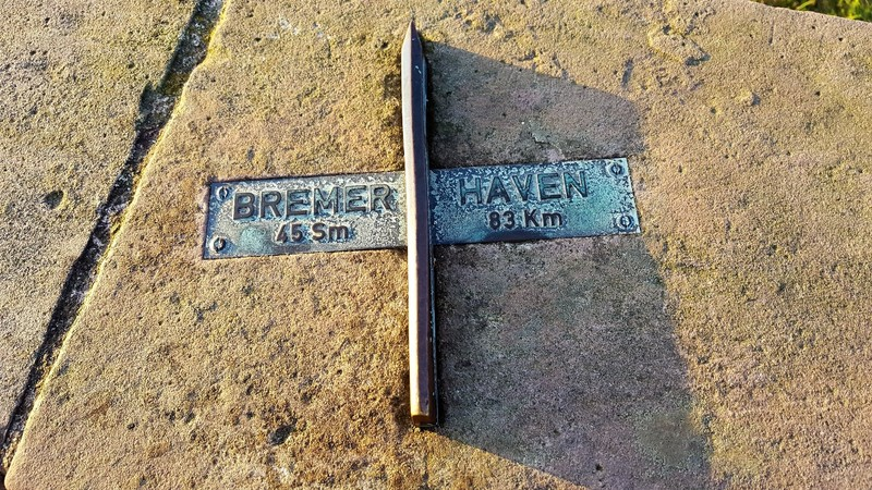081 distance to Bremerhaven where we came from