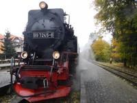Germany - Harz - Harzer steam train network - Brockenbahn