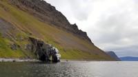 Iceland, Westfjords, elephant rock, on the way to Hesteyri peninsula, where we saw whales