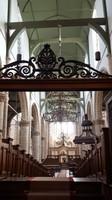 Netherlands - Gouda - inside St. Jans kerk (St. John's church)