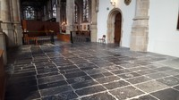 Netherlands, Gouda, St. John's church, the wing with all the graves of ancient heroes, rulers and subordinates