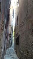 Slovenia, Istria, Piran - narrow alleys in the old town