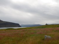 Iceland, Westfjords, Hesteyri peninsula all for ourselves