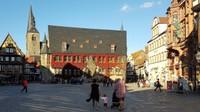 Germany - Harz - Quedlinburg, market square