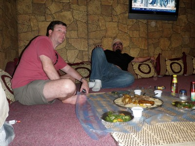 Eating Omani style at Nizwa Catering