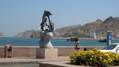 Mutrah harbor
