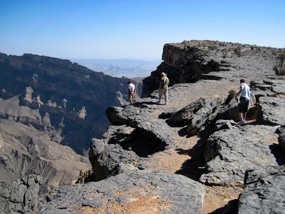 Lookout over Jabal Shams