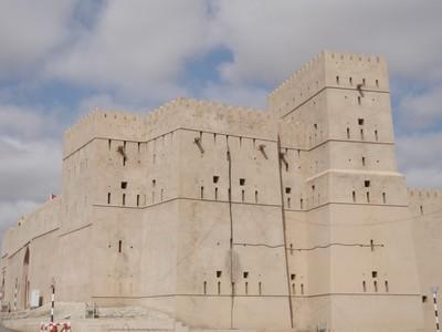 Ibri Fort is massive