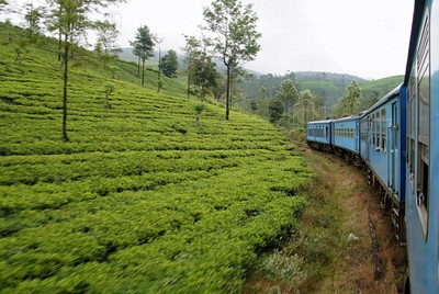 train ride to Haputale