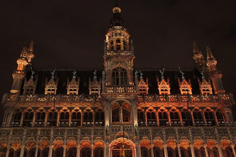 Brussels - La Grande Place by night