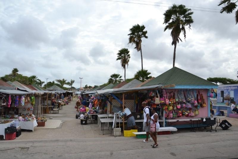Oranjestad Market Stalls