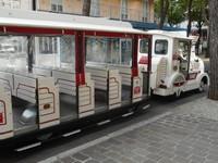 Gabicce Mare. Trenino turistico.