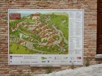 Mappa di Gradara.
