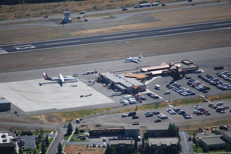 Hailey Idaho Airport Terminal